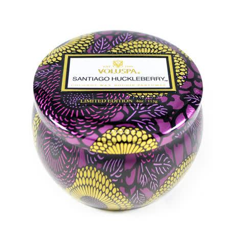 Voluspa 香氛蠟燭 聖地牙哥藍莓 小鐵罐 113g Santiago Huckleberry
