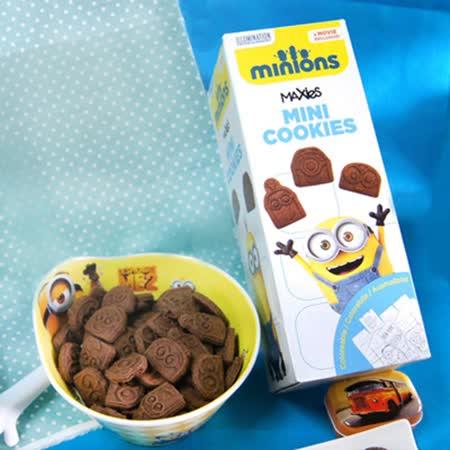 【麥克斯】小小兵造型巧克力點心餅