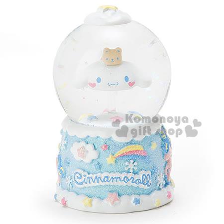 〔小禮堂〕大耳狗 造型耶誕雪球《S.彩虹.獨角獸.藍盒裝》冬日聖誕限定系列