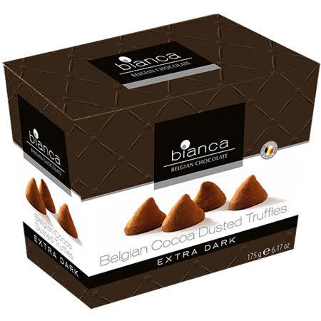 比利時Bianca 可可松露造型黑巧克力175g