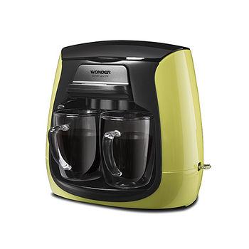 WONDER旺德雙層玻璃杯雙人咖啡機WH-L03D
