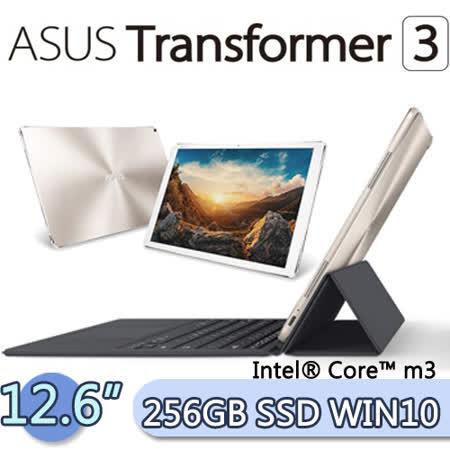 ASUS 華碩 Transformer 3 8G/256GB SSD Win10 (T305CA) 12.6吋 WQHD 2 in 1 變形平板筆電(冰柱金)(T305CA-0023G7Y30)
