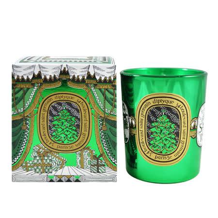 Diptyque 巴黎經典香氛 限量耶誕 香氛蠟燭 (綠)歡慶冷杉 190g Candle Acte3 Le Roi Sapin