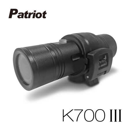 【全新福利品】愛國者 K700 III 三代 超廣角170度防水型1080P 極限運動 機車行車記錄器 (送16G TF卡)