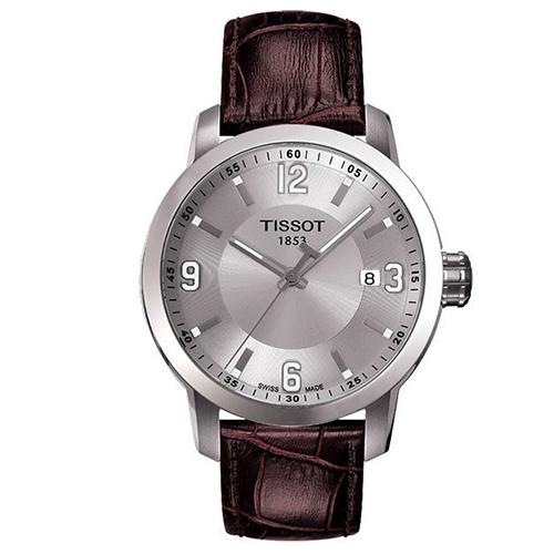 【TISSOT 天梭】PRC200系列大三針都會石英腕錶(39mm/T0554101603700)