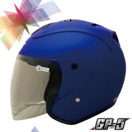 【GP-5 A612 素色巡警造型 3/4 罩安全帽】CP值超高|美國DOT認證|台灣製造