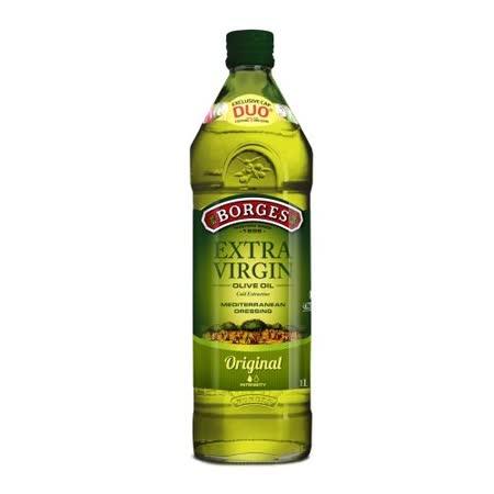 【BORGES百格仕】原瓶進口-原味橄欖油1Lx2瓶