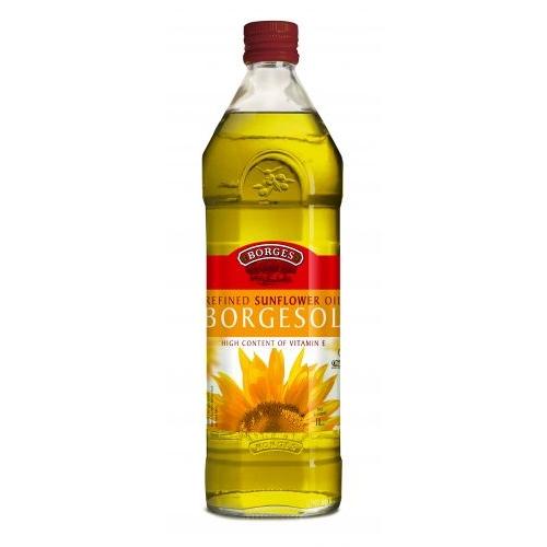 【BORGES百格仕】原瓶進口-葵花油1Lx1瓶