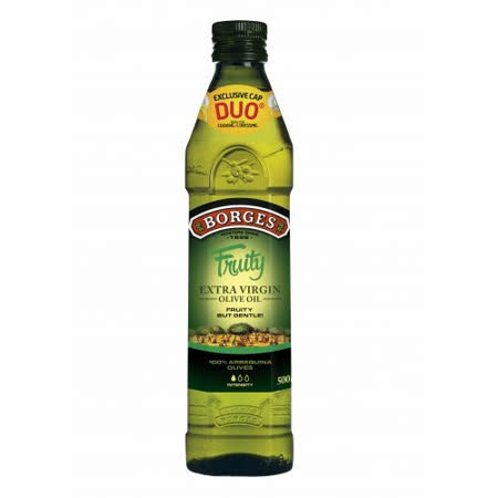 【BORGES百格仕】原瓶進口-阿爾貝吉納原味橄欖油500mlx1瓶