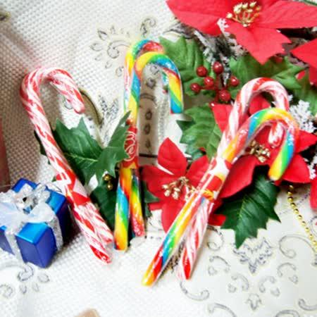 【聖誕拐杖糖】(2支/組 顏色隨機出貨)