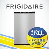 「享購物金再折抵」美國富及第Frigidaire 131L超低溫單門冰箱 銀黑色 (福利品)