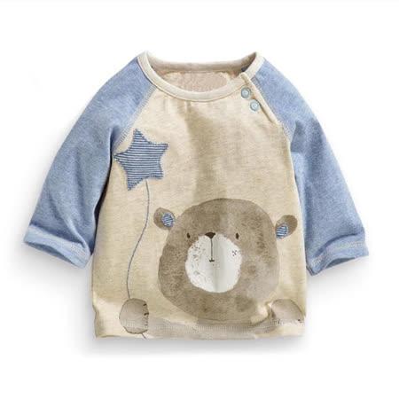 上衣 男童 星星熊 歐美經典兒童純棉長袖T恤