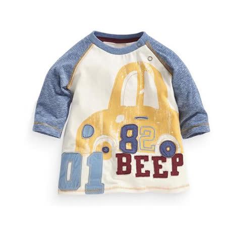 上衣 男童 數字車 歐美經典兒童純棉長袖T恤
