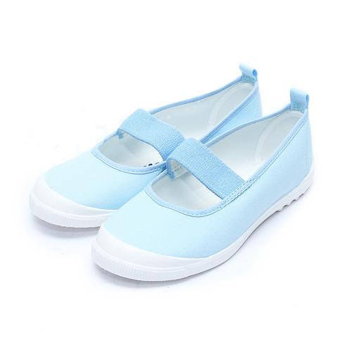 ^(中大童^) MOONSTAR 室內健康鞋 藍 鞋全家福