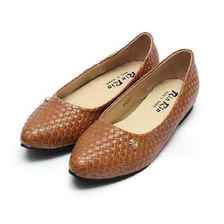 (女) Rin Rin 編織皮肩頭包鞋 咖 鞋全家福