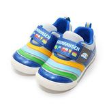 (中童) 新幹線 輕量舒適減壓休閒鞋 灰 鞋全家福
