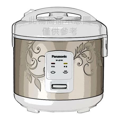   Panasonic   國際牌  十人份機械式電子鍋 SR-JQ185