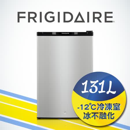 「享購物金再折抵」美國富及第Frigidaire 131L超低溫單門冰箱 黑色 (福利品)