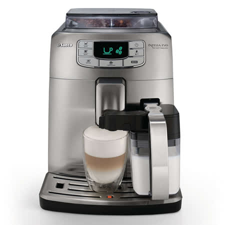 【PHILIPS 飛利浦】Saeco Intelia 全自動義式咖啡機 HD8753