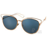 DIOR太陽眼鏡 金屬造型貓眼款(金) #SIDERAL2 J9HKU