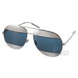 DIOR太陽眼鏡 人氣暢銷飛官款(銀) #SPLIT 010KU