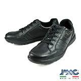 IMAC 時尚復古氣墊休閒鞋 黑色 60848-BL