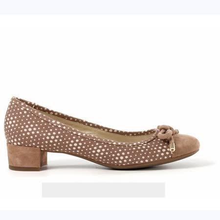 GEOX - D CAREY B 仕女鞋 布料 羊皮