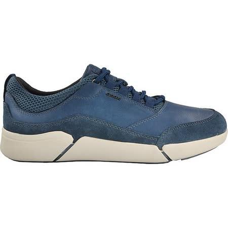 GEOX - U AILAND 運動鞋 牛麂皮 牛皮 彈性紡織
