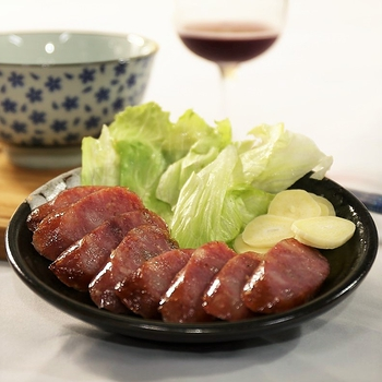 【阿里棒棒】飛魚卵海鮮香腸組合(共五包,每包300g,口味包含:原味、麻辣、黑后紅酒、墨魚、哇沙米)(免運)