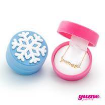 【YUME】超迷你馴鹿名字雪花耶誕禮盒