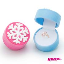 【YUME】材玫瑰心戒指耶誕禮盒
