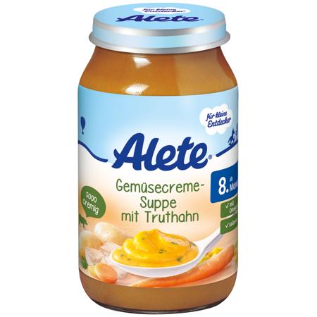 德國Alete火腿蔬菜湯  (220g x 6瓶1組)
