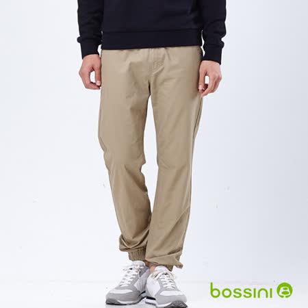 bossini男裝-潮流束口褲08銅黃色