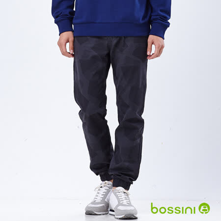bossini男裝-潮流束口褲09鐵灰