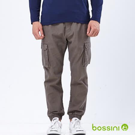 bossini男裝-潮流束口工作褲10暗綠