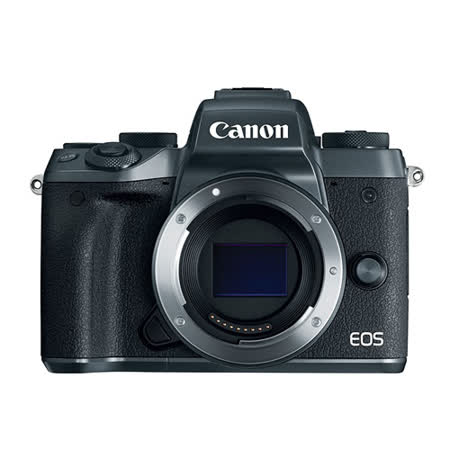 Canon EOS M5 BODY 單機身(公司貨).-2016/12/31前首購送32G+原廠電池(LP-E17)~加送相機包+大吹球+拭鏡筆+拭鏡布+保護貼+減壓背帶+Manfrotto單腳架