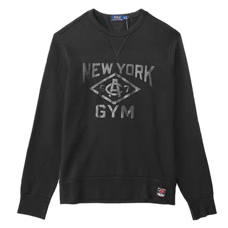 Ralph Lauren 紐約GYM內刷毛男大學T