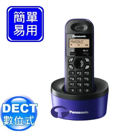 《Panasonic》 DECT數位式無線電話 KX-TG1311 (海軍藍)