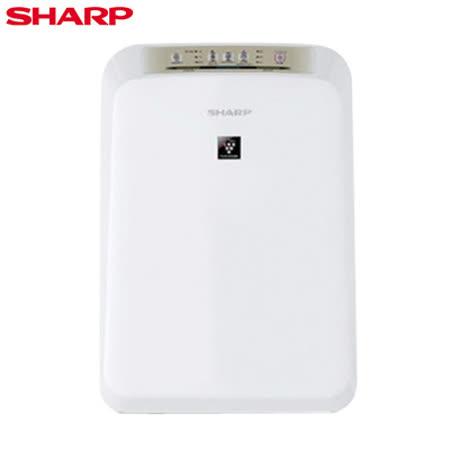 【SHARP夏普】自動除菌離子空氣清淨機 FU-D30T-W