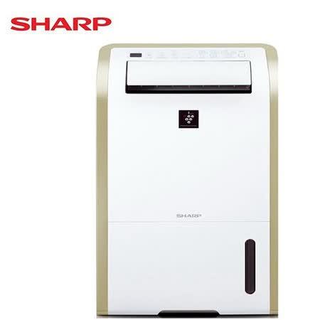 SHARP 夏普 13L自動除菌離子衣物乾燥除濕機DW-E13HT-W