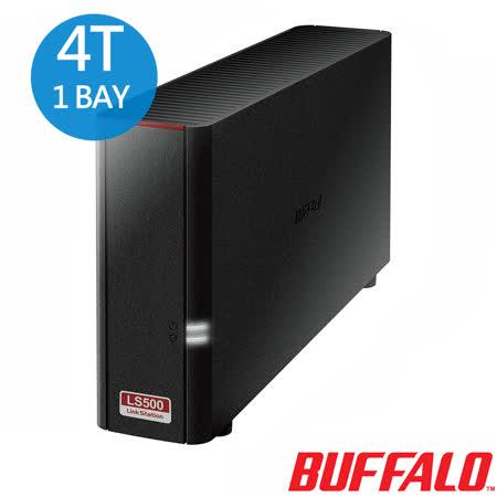 BUFFALO LS510D高性能雲端硬碟 1 bay 4TB NAS(LS510D0401)