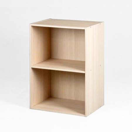 【優力格家具】DIY森活超值二格空櫃書櫃/置物櫃/收納櫃