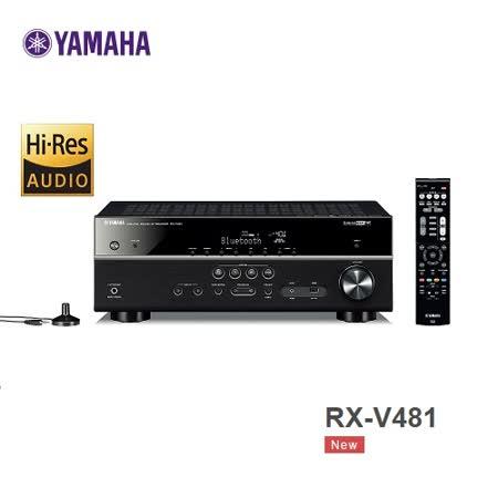 YAMAHA RX-V481 5.1聲道AV環繞擴大機