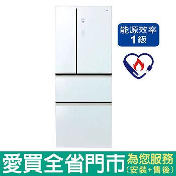 Panasonic國際500L四門變頻冰箱NR-D508NHGS-W含配送到府+標準安裝