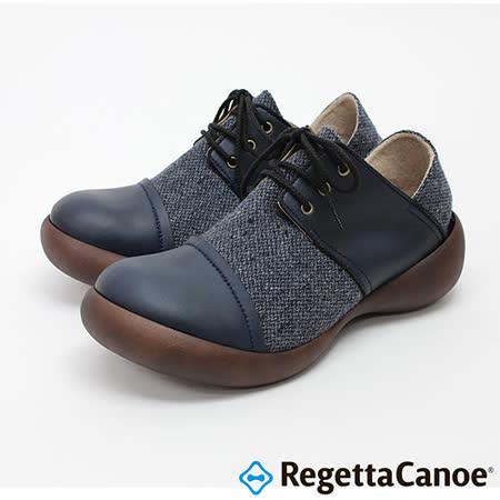 RegettaCanoe _(男款)CJFS-6903優雅樂步休閒鞋-海軍藍
