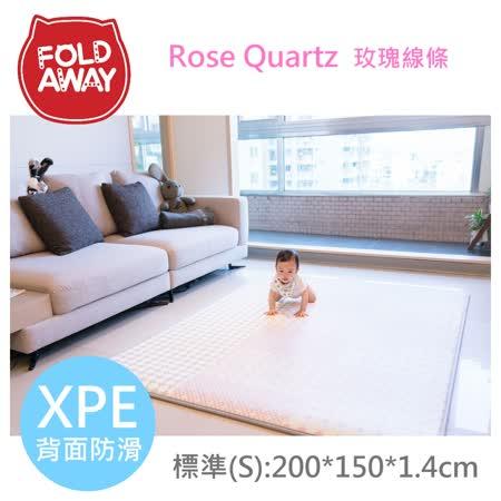 《韓國FOLDAWAY》玫瑰線條 - PE遊戲爬行墊 - 200*150*1.4cm