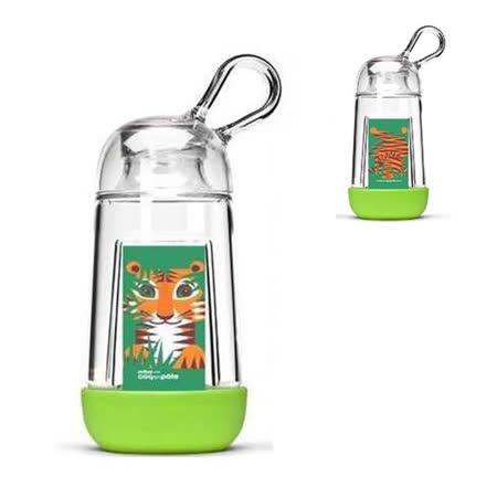 【BabyTiger虎兒寶】COQENPATE 法國無毒環保BB瓶 - 綠色