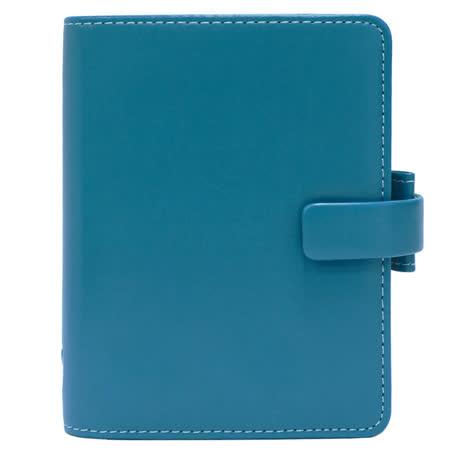 FILOFAX METROPOL都會 口袋型萬用手冊(小)- 翠鳥藍色