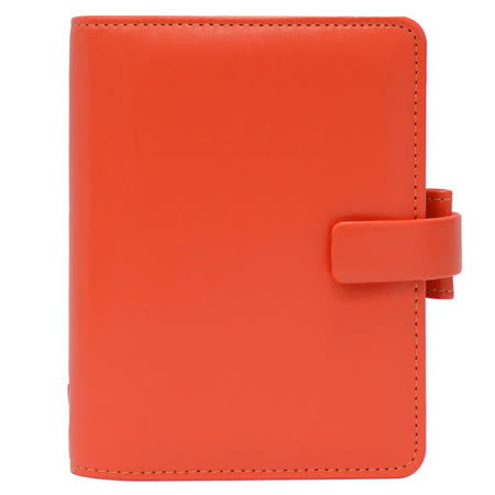 FILOFAX METROPOL都會 口袋型萬用手冊(小)-桔色