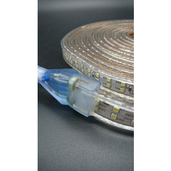2835 戶外LED防水燈條 5米 暖白光 雙排爆亮180燈 露營帳蓬燈 帶3米開關電源線